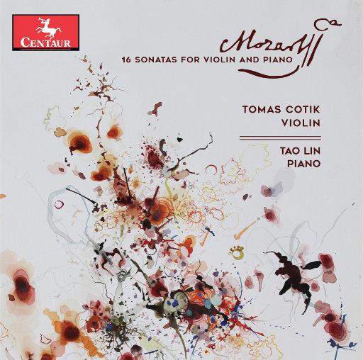 [套盒] 莫扎特: 16首小提琴奏鸣曲 (4 Discs),Tomás Cotik,林涛