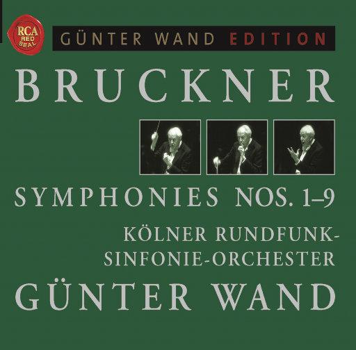 [套盒] 布鲁克纳: 交响曲全集 Nos. 1-9 (9 Discs),Kölner Rundfunk-Sinfonieorchester,Gunter Wand