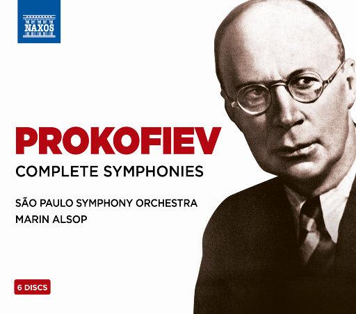 [套盒] 普罗科菲耶夫: 交响曲全集 (6 Discs),Marin Alsop,São Paulo Symphony Orchestra