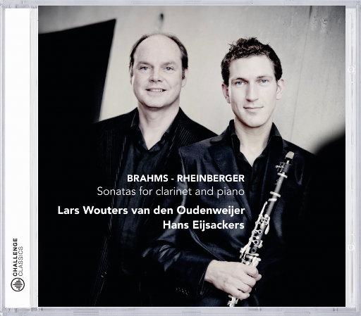 勃拉姆斯 / 莱茵伯格: 单簧管与钢琴奏鸣曲,Lars Wouters van den Oudenweijer,Hans Eijsackers