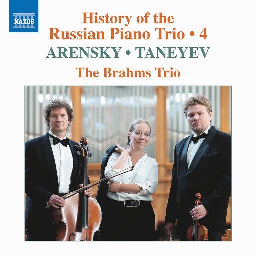 俄罗斯钢琴三重奏的历史, Vol. 4,Brahms Trio