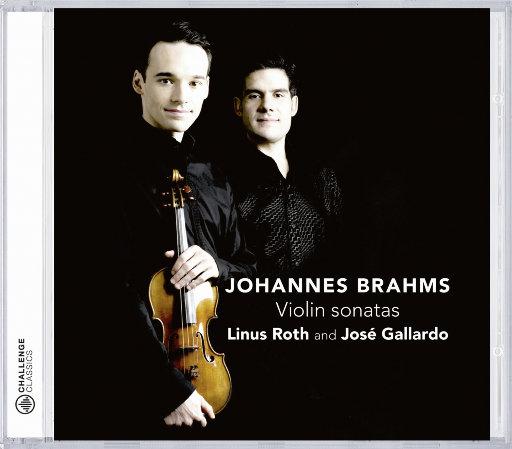 勃拉姆斯: 小提琴奏鸣曲 Nos. 1-3,Linus Roth, José Gallardo