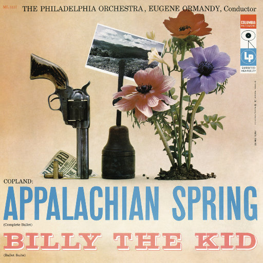 柯普兰: 阿帕拉契亚的春天 & 比利小子 (尤金·奥曼迪),Eugene Ormandy