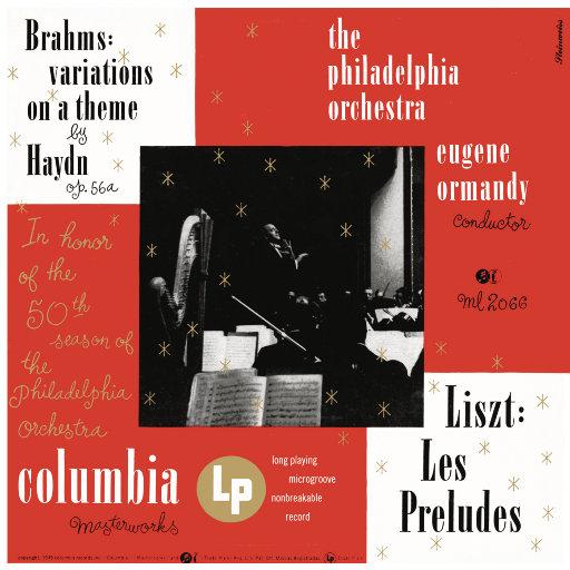 勃拉姆斯: 海顿主题变奏曲, Op. 56a / 李斯特: 前奏曲, S. 97 (尤金·奥曼迪),Eugene Ormandy