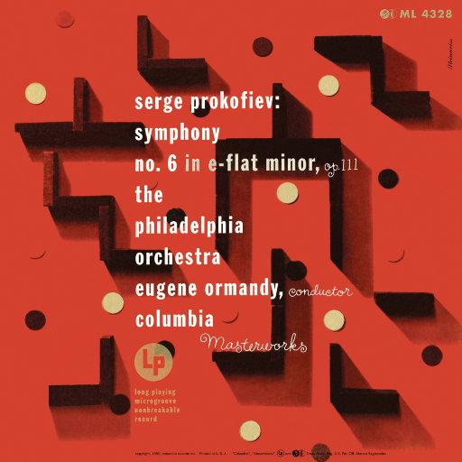 普罗科菲耶夫: 降e小调第六交响曲, Op. 111 (尤金·奥曼迪),Eugene Ormandy