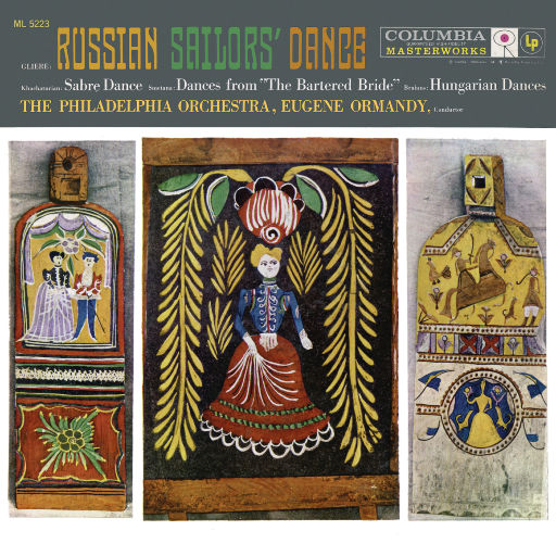 尤金·奥曼迪指挥《俄罗斯水手之舞》、《匈牙利舞曲》与《被出卖的新娘》选段,Eugene Ormandy