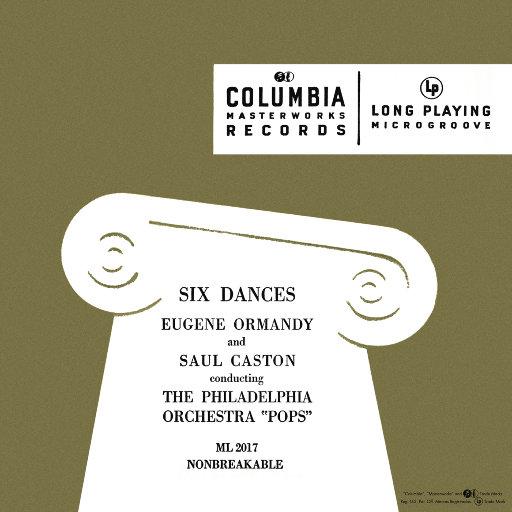 斯美塔那, 德沃夏克, 勃拉姆斯, 费尔南德斯与格里埃尔的六首舞曲 (尤金·奥曼迪),Eugene Ormandy