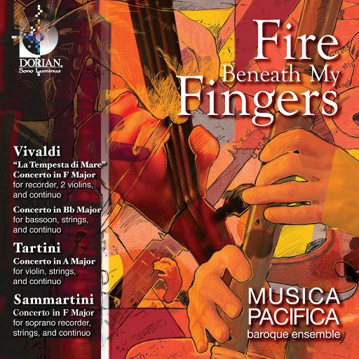 室内乐作品集 - 维瓦尔第/ 塔尔蒂尼 / 萨马尔蒂尼 (指尖下的火焰) (帕西菲卡巴洛克乐团),Musica Pacifica