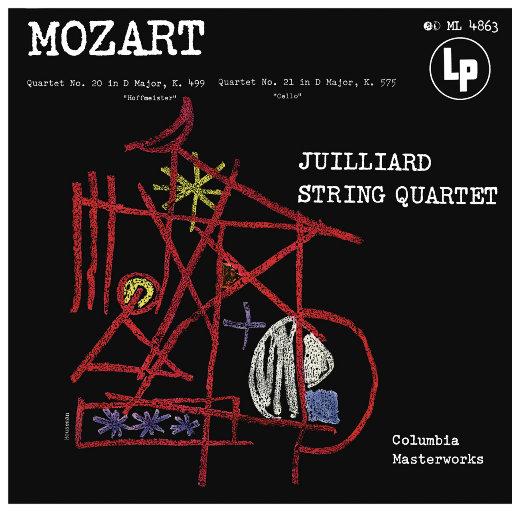 莫扎特: 弦乐四重奏 Nos. 20 & 21,Juilliard String Quartet