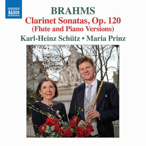 勃拉姆斯: 作品集 (为长笛 & 钢琴改编),Karl-Heinz Schütz,Maria Prinz