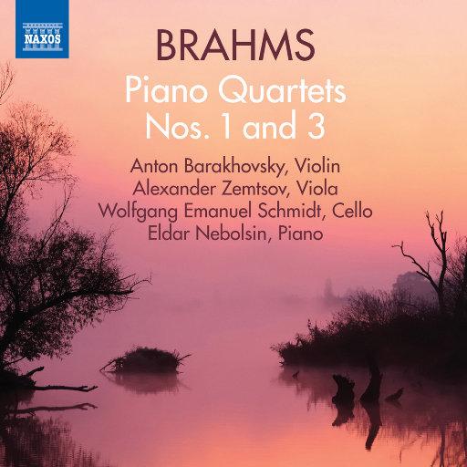 勃拉姆斯: 第一、第三钢琴四重奏,Anton Barakhovsky