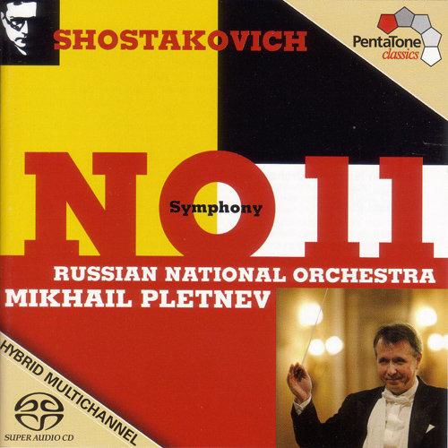 """肖斯塔科维奇: 第十一号交响曲, """"1905年"""",Mikhail Pletnev"""