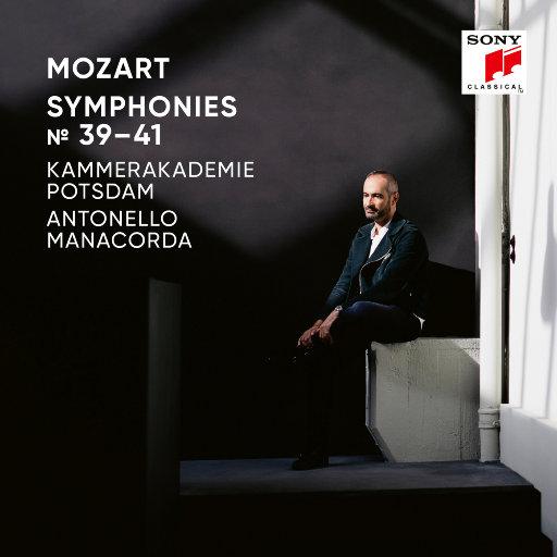 莫扎特交响曲 Nos. 39, 40, 41,Kammerakademie Potsdam,Antonello Manacorda