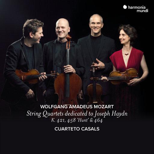 莫扎特:献给海顿的弦乐四重奏 K.421, K.458 '狩猎',K.464,Cuarteto Casals