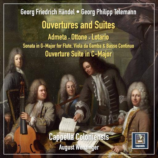 亨德尔 & 泰勒曼: 序曲 & 组曲,Cappella Coloniensis,August Wenzinger
