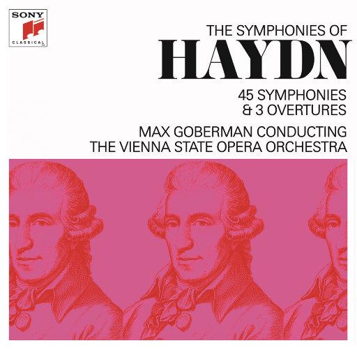 [套盒]海顿:交响曲(马克斯·戈伯曼) (14 Discs),Max Goberman