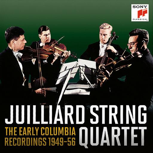 [套盒] 茱莉亚弦乐四重奏 - 哥伦比亚早期录音全集 (16 Discs),Juilliard String Quartet