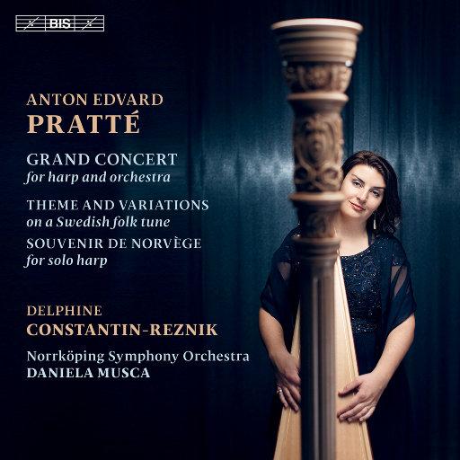 普拉特: 竖琴作品集,Delphine Constantin-Reznik,Norrköping Symphony Orchestra,Daniela Musca