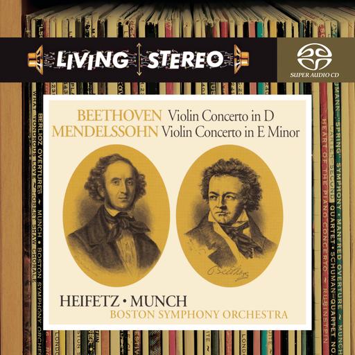 海菲兹/贝多芬,门德尔松:小提琴协奏曲,Jascha Heifetz