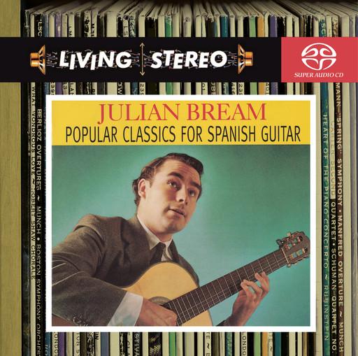 布里姆:西班牙吉他代表作品,Julian Bream