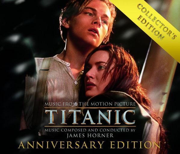 泰坦尼克号:电影原声大碟(4CD珍藏版),James Horner
