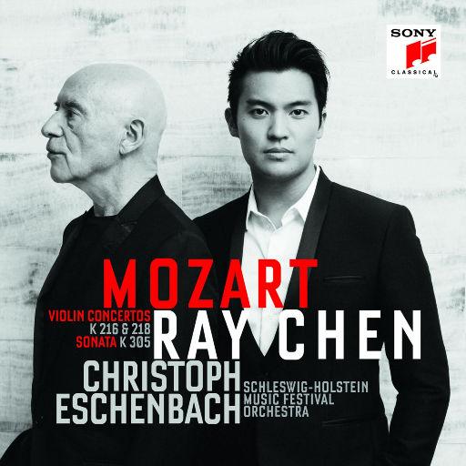 莫扎特: 小提琴协奏曲与奏鸣曲,Ray Chen