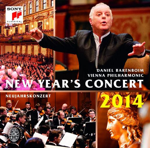 2014维也纳新年音乐会 (丹尼尔·巴伦博伊姆,维也纳爱乐乐团),Daniel Barenboim,Wiener Philharmoniker