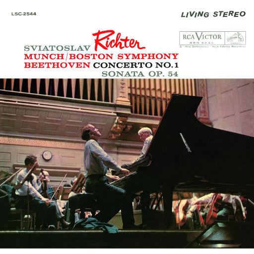 里赫特/贝多芬:协奏曲 No.1, Op.15 & Sonata No.22, Op.54,Sviatoslav Richter