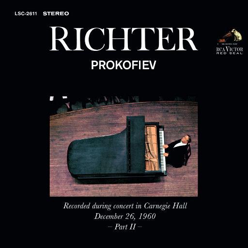里赫特演奏普罗科菲耶夫 - 卡内基音乐厅现场(1960.12.26),Sviatoslav Richter