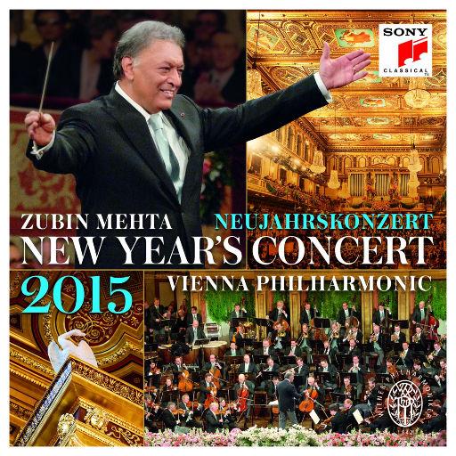 2015维也纳新年音乐会 祖宾·梅塔指挥,祖宾·梅塔