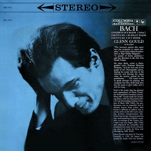 巴赫F大调意大利协奏曲,BWV971,Glenn Gould