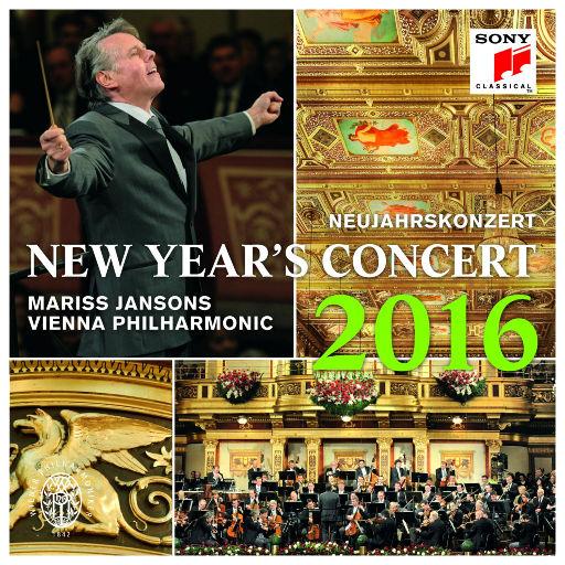 2016维也纳新年音乐会 马里斯·杨松斯指挥,Mariss Jansons