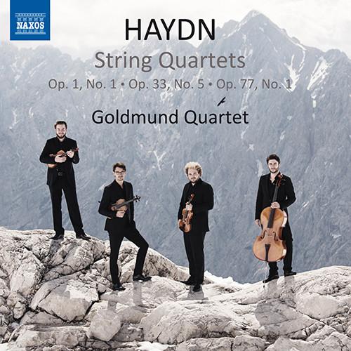 海顿:弦乐四重奏 Nos.1, 29, 66,Goldmund Quartet