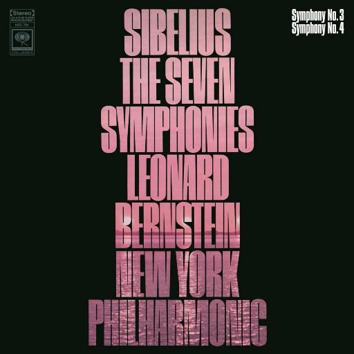 西贝柳斯:第三、四交响曲 (伯恩斯坦与纽约爱乐),Leonard Bernstein