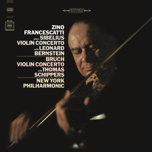 西贝柳斯/布鲁赫:小提琴协奏曲 (齐诺·弗兰切斯卡蒂),Leonard Bernstein