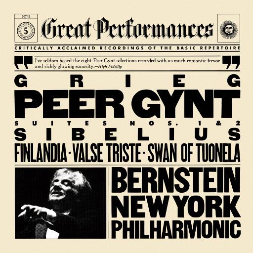 西贝柳斯:芬兰颂/格里格:培尔·金特组曲,Leonard Bernstein