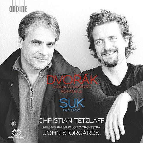 德沃夏克: 小提琴协奏曲 / 浪漫曲, Op.11 / 苏克: G大调幻想曲,Christian Tetzlaff