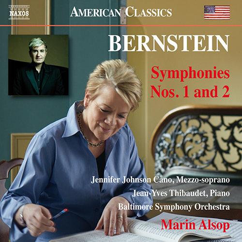 伯恩斯坦:第1、2号交响曲,Marin Alsop