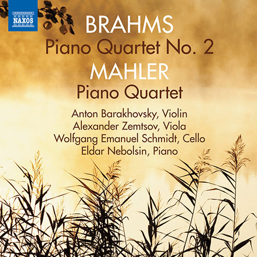 勃拉姆斯:钢琴四重奏No.2/马勒:钢琴四重奏,Eldar Nebolsin
