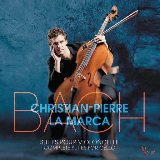 巴赫:六首无伴奏大提琴组曲(Christian-Pierre La Marca)(2CD),Christian-Pierre La Marca